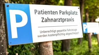Parkmöglichkeiten Zahnarztpraxis Aalai Fürth