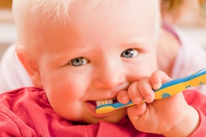 Zahnen bei Babys